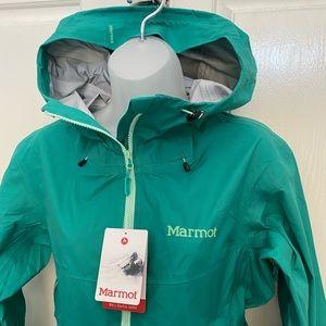 NEW wTag-MARMOT Green Garnet Starfire Jacket L